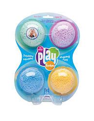 Шариковый пластилин для лепки Playfoam  4 цвета  от Learning Resources