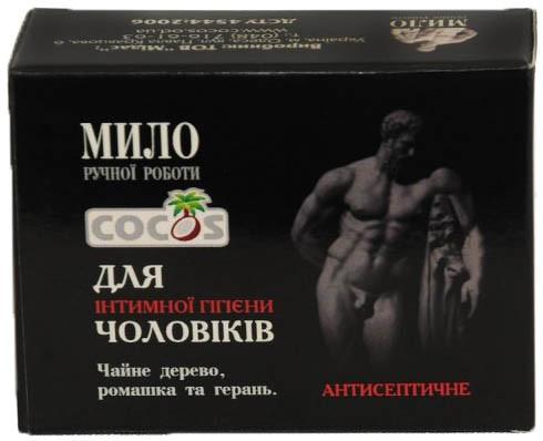 Інтимне мило Cocos для чоловіків антисептичне 55 г