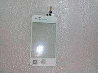 Сенсор iPhone 3G белый с уплотнителем