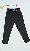 Очаровательные черные брючки  для девочки рост 140-152см, фото 1