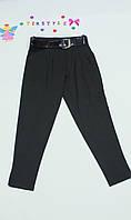 Очаровательные черные брючки  для девочки рост 140-152см