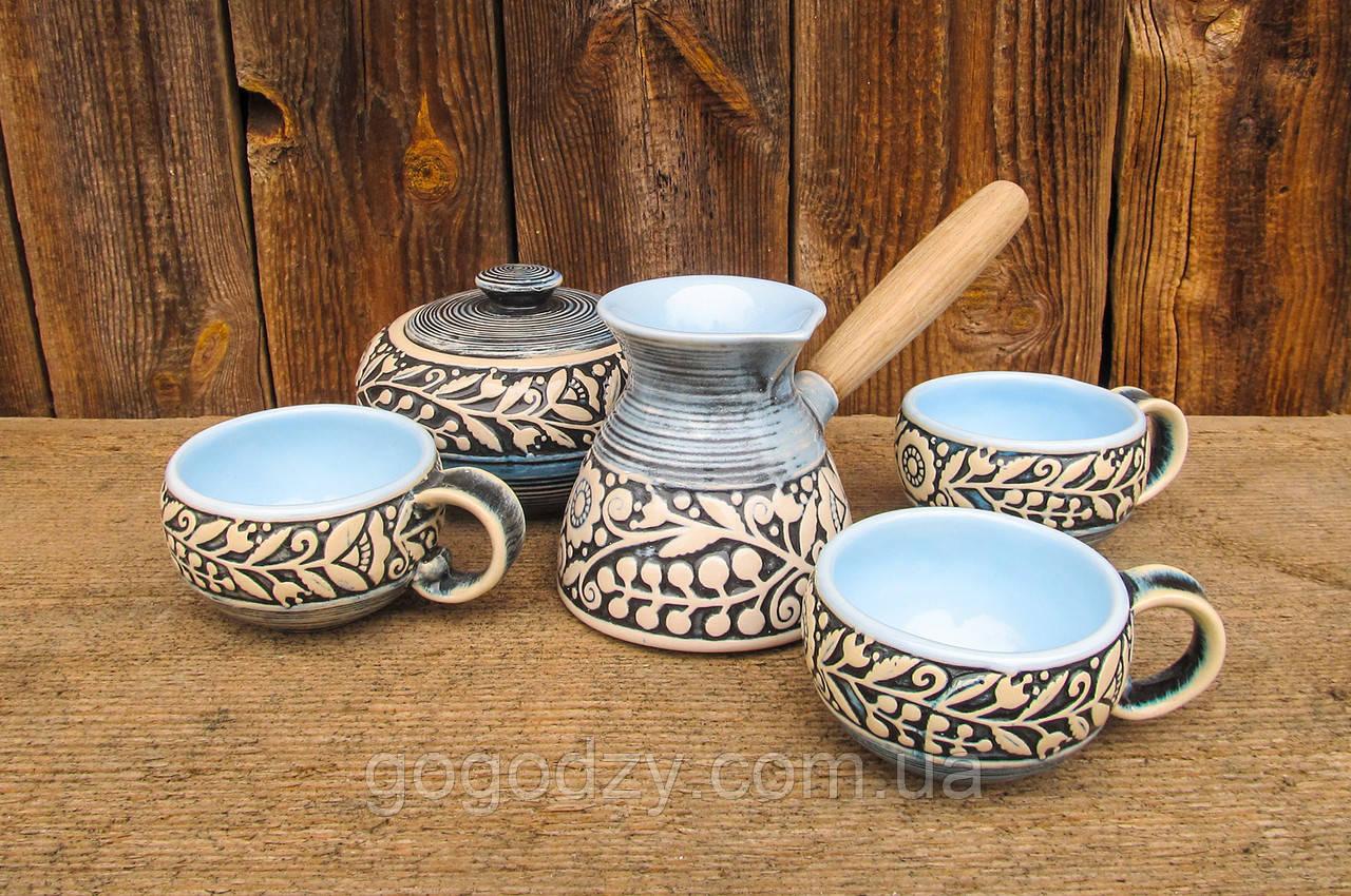 Набір кавовий на 3 особи