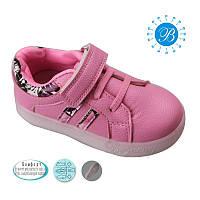 Спортивная детская обувь с подсветкой. Кроссовки для девочек оптом 3300C (12/6пар, 21-26