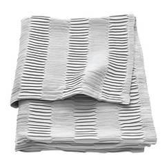 Плед, светло-серый, 120x160 см IKEA VÄGMÅLLA 503.730.97
