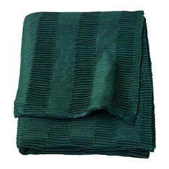 Плед, зеленый, 120x160 см IKEA VÄGMÅLLA 203.522.80