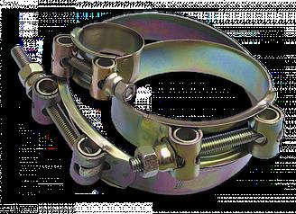 Хомут силовой одноболтовый, GBSH, W1, 27-29/18  мм, GBSH 27-29
