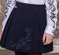 Школьная юбка с вышивкой Розмари Suzie Размеры 116 - 134 Шерсть