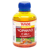 Чернила WWM для Canon CL-441/CL-446/CLI-451Y 200г Yellow Водорастворимые (C45/Y)