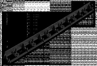 Бордюр садовый RIM-BOARD - 45/1000мм, OBRB45