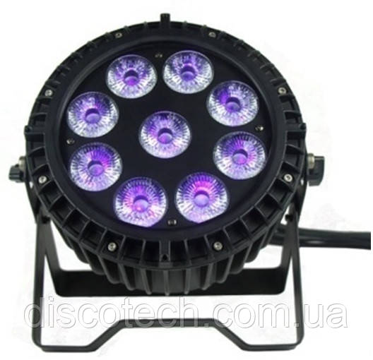 Пар New Light M-LW9-10 LED Waterproof PAR LIGHT 9*10W 5 в 1