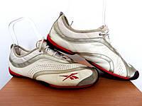 Кроссовки Reebok100% ОРИГИНАЛ р-р 38 (24,5 см) (Б/У, СТОК) рибок кожаные белые nike adidas для спорта кеды