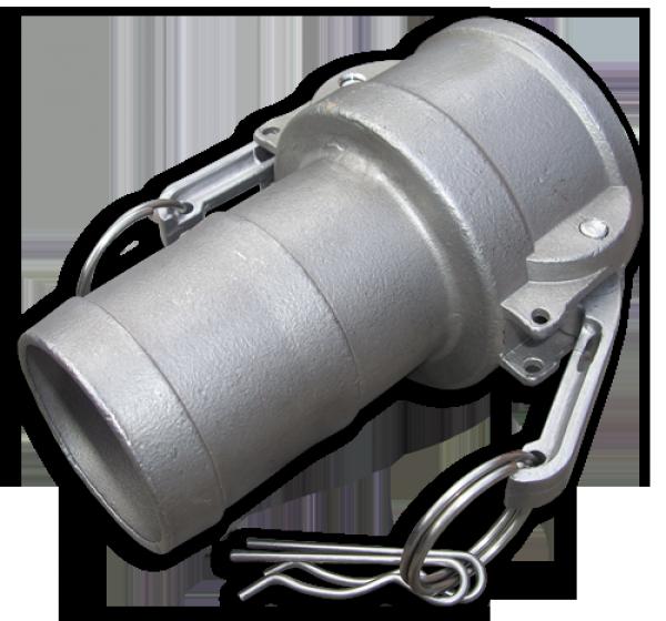 "KAMLOK Тип C - На шланг 3"" - нерж/сталь, CGC300A/SS"