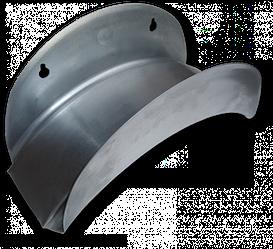 Держатель для шланга, настенный, металлический, ECO-WF114