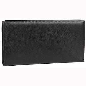 Мужской клатч портмоне из натуральной кожи премиум класса черный AL-2012A-TR