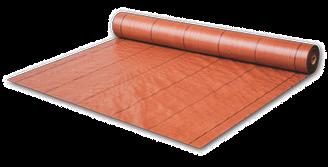 Агроткань PP коричневая UV, 70 гр/м? размер 0,8 х 100м, ATBR7008100