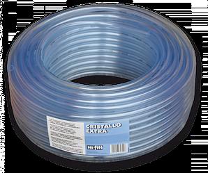 Шланг прозрачный игелитовый, CRISTALLO EXTRA,  6*2 мм, IGCE06*10/100