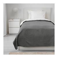 Покрывало, серый, 150x250 см IKEA TRATTVIVA 303.496.78