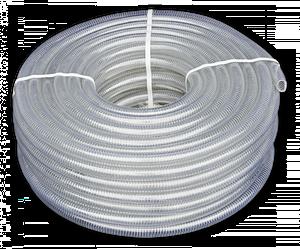 Шланг вакуумно-напорный, METAL-FLEX, с оцинкованной  спиралью, 25мм/30м, MF25