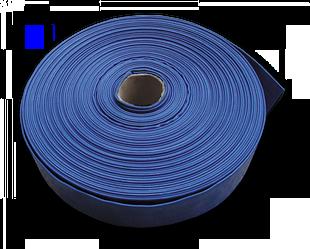 """Шланг AGRO-FLAT W.P.2, 4"""", 100 м, BLUE, WAF2B400100"""