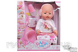 Пупс Baby born функціональний (їсти ,пити, плакати, писати, аксесуари...)