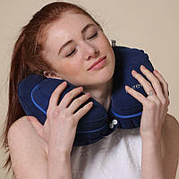 Надувная дорожная подушка для шеи PUREFLY