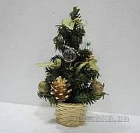 Новогодняя елка с украшением Девилон 20 см 470846