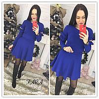 Костюм трикотажный юбка кофта