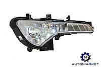 Фара противотуманная правая (ПТФ + адаптивный свет) Kia Sportage 2010-2015 (SL)