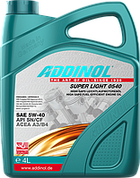 Масло моторное Addinol Super Light 0540 5W-40 4л