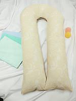 Подушка для беременных + наволочка в комплекте, фото 1