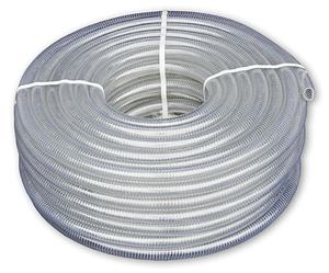 Шланг вакуумно-напорный, METAL-FLEX, с оцинкованной  спиралью, 12мм/30м, MF12