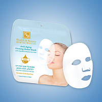 Питательная,Освежающая тканевая маска для лица Anti-age