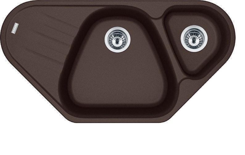 Мойка кухонная Franke AZG 661-E шоколад