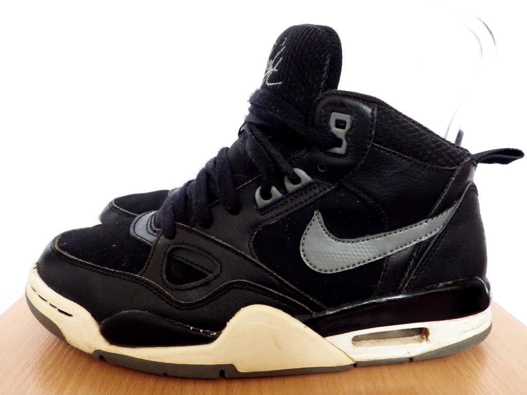 b11bce09 Кроссовки Nike Air Flight 13 100% ОРИГИНАЛ р-р 36,5 (23,5 см) (Б/У, СТОК)  кожаные чёрные высокие найк jordan , цена 370 грн., купить в Краматорске —  Prom.ua ...