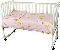 Комплект постільної білизни для дитячого ліжечка ТМ РУНО