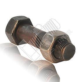 Болт башмачный с гайкой | Болт М16х1.5х60 | Гайка башмачная М16