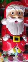 Новогодняя Игрушка с конфетами в шоколадной глазури Дед мороз 150 грамм