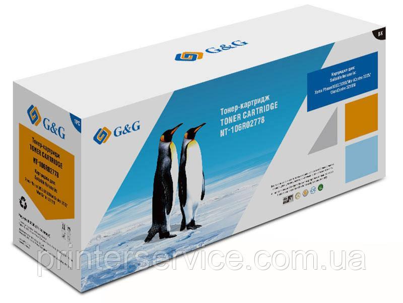 Картридж 106R02778 совместимый (аналог) для Xerox WC3215/ 3225 P3052/ 3260, G&G-106R02778 black