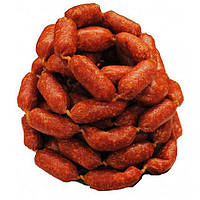 Колбаски Мини салями сырокопченые цена за 1 кг 195 грн