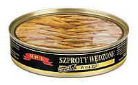 Шпроты в масле MK Szproty Wedzone v oleju, 160 г (Польша) ж/б