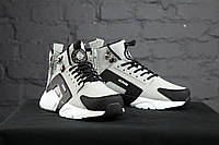 Мужские зимние кроссовки Nike Air Huarache High Grey