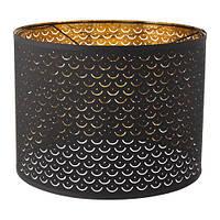Абажур, черный, желтая медь, 44 см IKEA NYMÖ 003.772.10