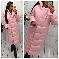 Куртка-пальто мод.243 (утеплитель-синтепон 250-зима) Хит продаж 4 цвета в наличии