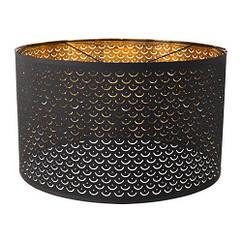 Абажур, черный, желтая медь, 59 см IKEA NYMÖ 603.772.07