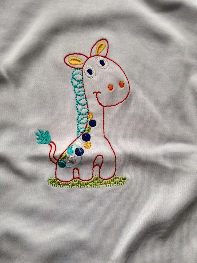 Бодик Жираф белый