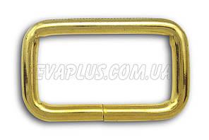 Рамка 40х21х5 мм 6166 золото