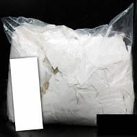 Конфетти метафан белый, 100 грамм
