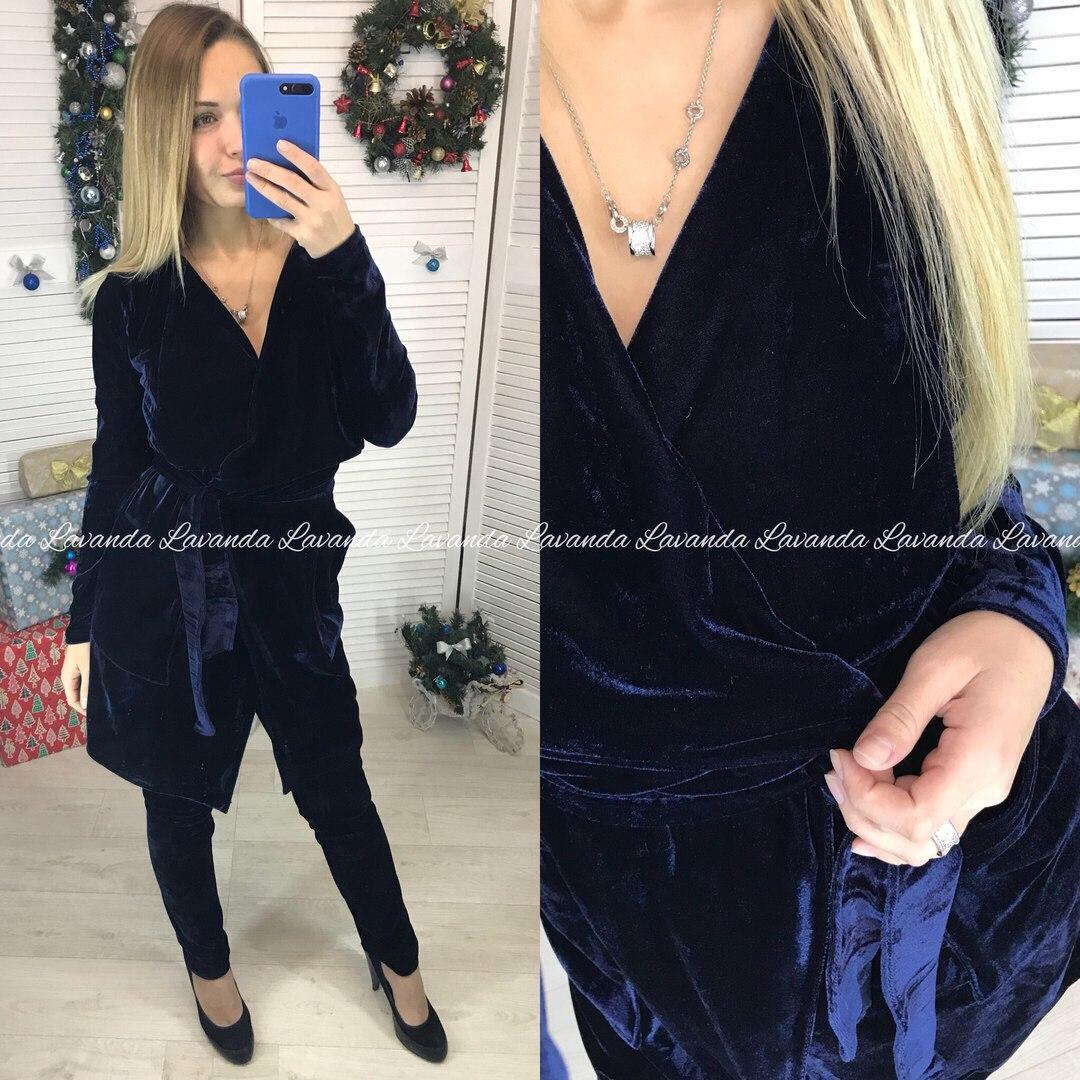 0c2e0503c32 Женский костюм лосины+ платье-пиджак - Интернет-магазин
