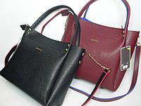 """Модная женская сумка """"B.Elit"""" черного цвета (и бордового)"""
