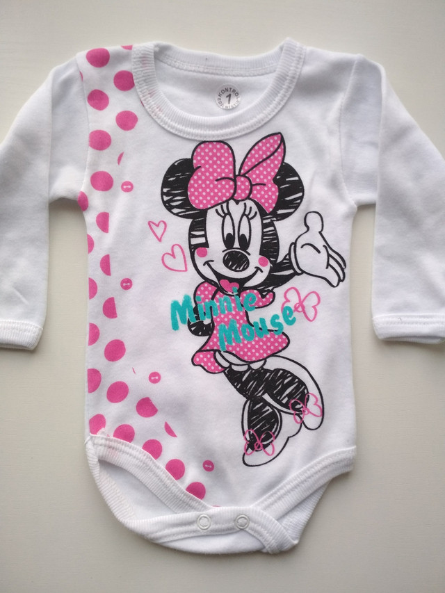 Бодик Minnie Mouse на девочку